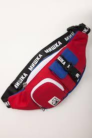 Сумка <b>MISHKA Printed</b> Waist Bag MAW183107F00 Multicolor ...