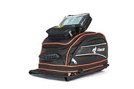Raida GPS Series <b>Motorcycle Tank</b> Bag with Rain Cover (Black, XL ...