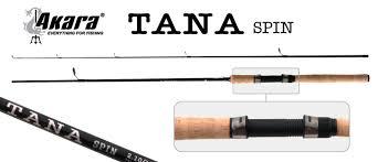 Спиннинг штекерный угольный 2 колена Akara Tana <b>Spin</b> IM7