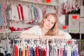 w shop assistant or retail seller stock photo picture and stock photo w shop assistant or retail seller