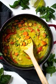 Healing Lemongrass Chickpea Thai Green Curry with Toasted ...