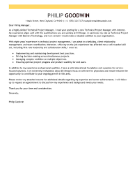 cover letter cover letter for technical job cover letter for job cover letter best technical project manager cover letter examples livecareer computers technology emphasis xcover letter for