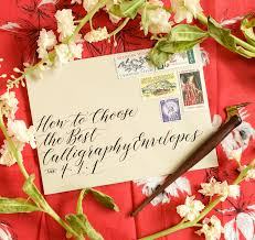 <b>How to Choose</b> the Best <b>Calligraphy</b> Envelopes – The Postman's ...
