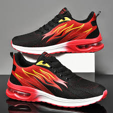 <b>Men's Breathable Air</b> Cushion Jogging Non-slip Sneakers
