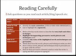 language analysis essay writing  plan your response write