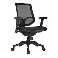 workpro 1000 series mid back mesh black and white office furniture