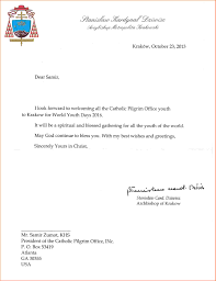 date on formal letter event planning template cardinal stanislaw dziwisz confirms official wyd 2016 dates to cpo