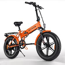 <b>ENGWE EP-2 500W Folding</b> Fat Tire Electric Bike with 48V 12.5Ah ...