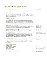 real estate broker resume  cenegenics coreal estate broker resume sample