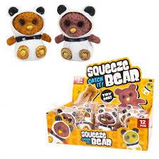 <b>Развивающая игрушка Junfa Антистресс</b>-тянучка Squeeze Bear ...