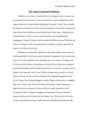 essays on prohibition prohibition study resources  pages american history   why america repealed prohibition dbq final copy