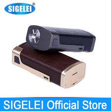 vape mod Stable wood & Zinc alloy Electronic <b>e Cigarette</b> Sigelei ...