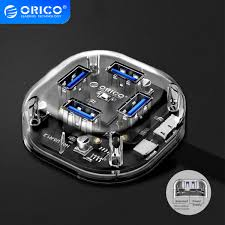 <b>ORICO 4/7 Ports</b> USB3.0 HUB Transparent High Speed With Micro ...