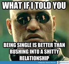 Memes Vault Funny Memes About Being Single via Relatably.com