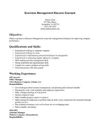 extraordinary business management resume template best qguxefer gallery photos of archaicfair sample resume for business manager