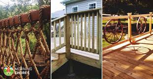 32 DIY <b>Deck Railing</b> Ideas & Designs That Are Sure to Inspire You