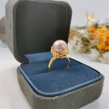 Перламутровое <b>кольцо</b>, модное <b>кольцо</b>, регулируемый размер ...