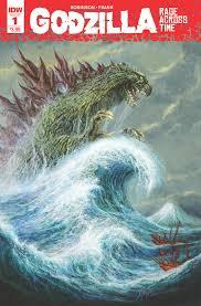 <b>Godzilla</b>: Rage Across Time #1 (Second <b>Printing</b>)   IDW Publishing
