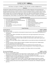 professional environmental manager templates to showcase your resume templates environmental manager