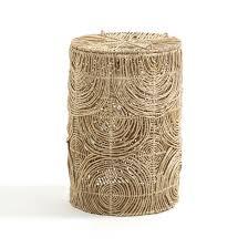 <b>Корзина</b> для белья, в.60 см, из плетеной манильской пеньки ...