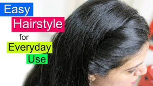 <b>Easy</b> Hairstyles for School, College or Office | Everyday Hair <b>Style</b> ...