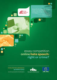 essay competition on line hate speech right or crime elsa online hate speech ec a3 poster page 001