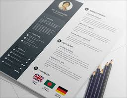 creative free resume cv templates to downloadfree psd resume template