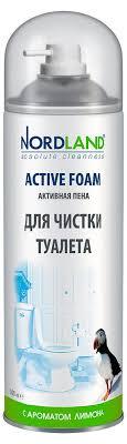 Пена активная для чистки туалета с ароматом <b>лимона Nordland</b> ...
