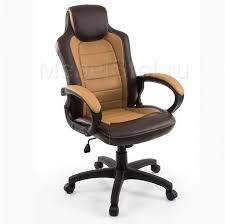 <b>Компьютерное кресло Woodville</b> Kadis коричневое / бежевое 1726