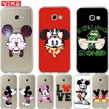 Luxury <b>Cute</b> Mickey Minnie couple Cases For Samsung A3 <b>A5 A6</b> ...