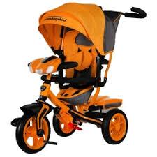 Детские <b>трехколесные велосипеды</b> оранжевого цвета — купить ...