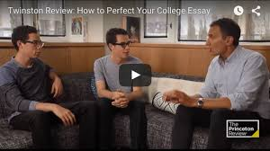 crafting an unforgettable college essay  apply  the princeton review perfect your college essay video