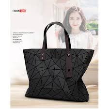 Japan <b>Women Bag Triangle</b> Folding <b>Shoulder Bag Handbag</b> ...