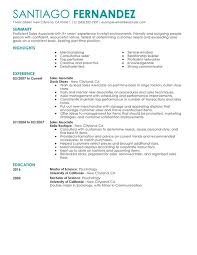unforgettable   time sales associates resume examples to stand      time sales associates resume sample