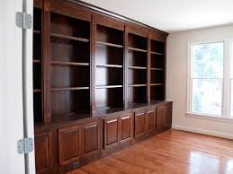 custom bookcases traditional home office bookcases for home office