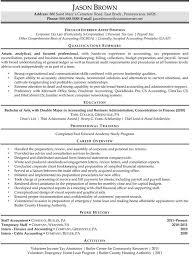 staff accountant resume3 internal auditors job description