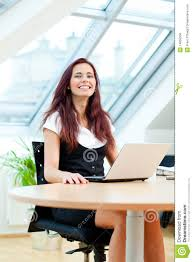 happy clerk royalty stock image image  happy clerk