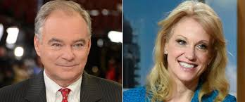 this week transcript sen tim kaine and kellyanne conway abc news photo tim kaine left and kellyanne conway to appear on this week
