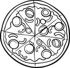 Small Picture Pizza Coloring Printables Pizzas Pizza party and Birthdays