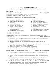 student teaching resume editstudent teaching resume edit  tyler matthijssen  east gate road  long valley  nj