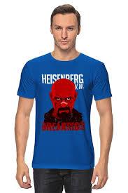 <b>Футболка классическая Printio Red</b> Heisenberg #1098584