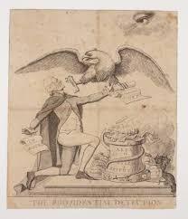 a new nation the american yawp providential detection 1797 via american antiquarian society this image attacks jefferson s support