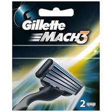 Кассета <b>для станка Gillette Mach 3</b>, 2 шт | Магнит Косметик