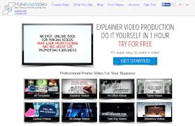 make web video create your own animated business promo in minutes