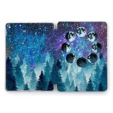 Wonder Wild Night Dark Star Sky Forest iPad 5th 6th ... - Amazon.com
