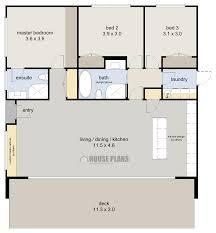 Zen Beach Bedroom   HOUSE PLANS NEW ZEALAND LTDzen beach bed floor plan m