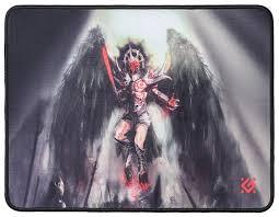 Купить <b>Коврик Defender</b> Angel of Death M (50557) черный ...