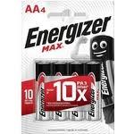 Купить <b>Батарейка ENERGIZER</b> (<b>4</b> шт) MAX E91/AA 1,5V недорого ...