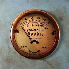 Kitchenalia Health o Meter <b>Steampunk</b> Gauge FRIDGE MAGNET ...