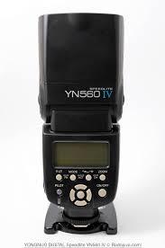 Обзор вспышки <b>YONGNUO Speedlite</b> YN560 IV | Радожива